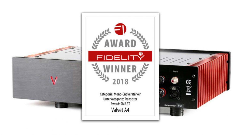 VALVET A4MKII mono power amplifiers